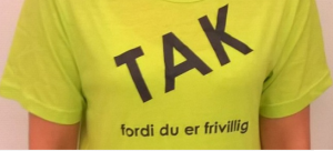 Tak for at du er frivillig